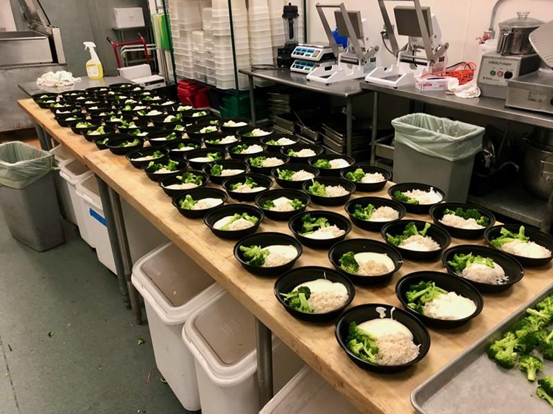 ShiftMeals at the Skinny Pancake commissary in Winooski - COURTESY OF SHIFTMEALS
