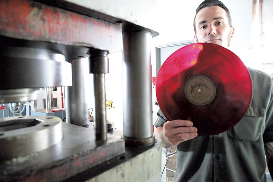 The Burlington Record Plant
