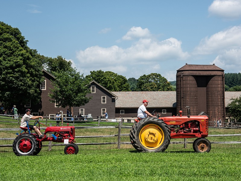 Tractor Days at Billings Farm & Museum - COURTESY OF BILLINGS FARM & MUSEUM