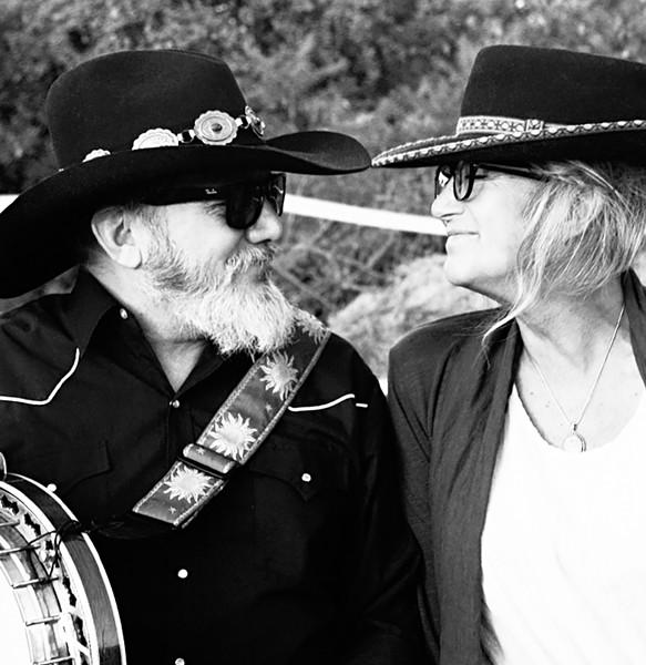 Gordon Stone and Jennifer Harwood - COURTESY OF KATHERINE LUCAS
