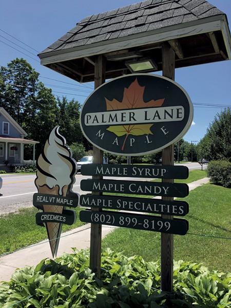 Palmer Lane Maple - PAMELA POLSTON ©️ SEVEN DAYS