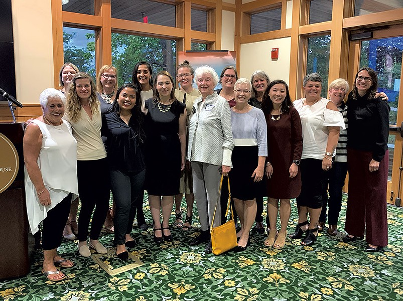 Emerge Vermont participants and leaders with former governor Madeleine Kunin (center) - COURTESY OF EMERGE VERMONT