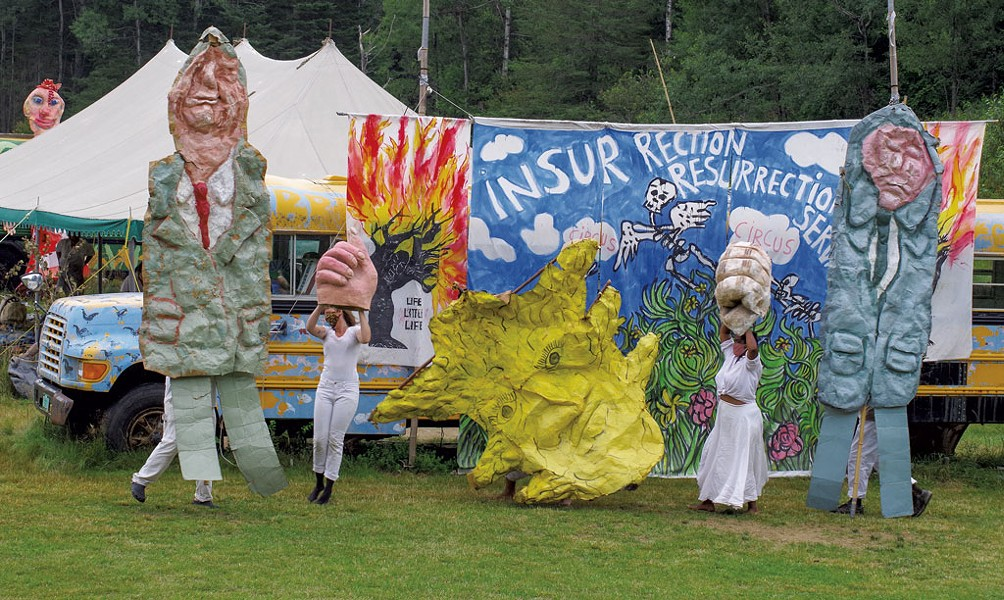 Bread and Puppet Theater in Glover - PHOTOS COURTESY OF STEPHEN MEASE
