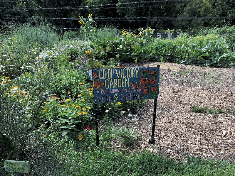 A GrowTeam garden at the Intervale in Burlington - SALLY POLLAK