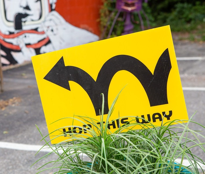 South End Art Hop - COURTESY OF LUKE AWTRY