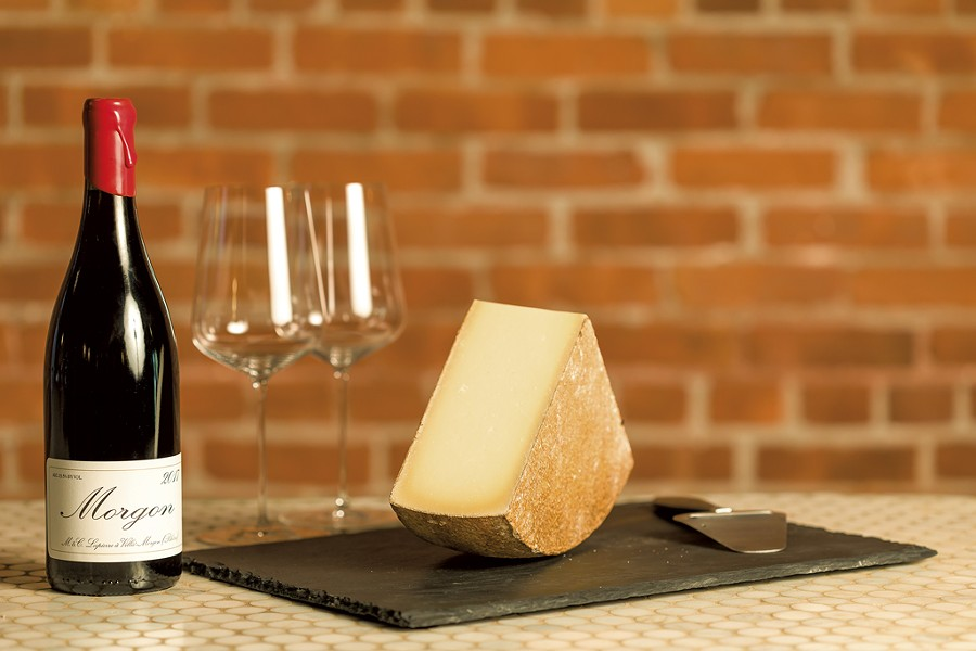 Cheese and wine from Dedalus Wine Shop, Market & Wine Bar - FILE: OLIVER PARNIN