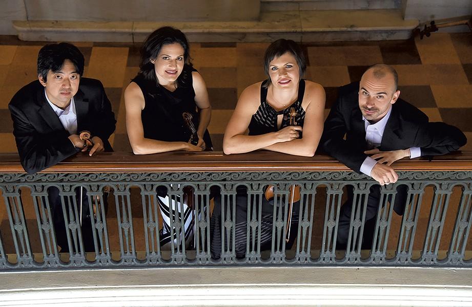 Jupiter String Quartet - COURTESY OF SARAH GARDNER
