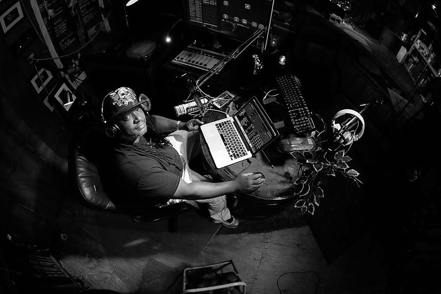 DJ Flame (Anthony Glosson) - COURTESY OF BIG HEAVY WORLD