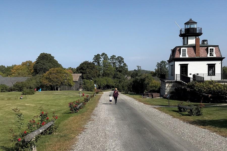 Lighthouse at Shelburne Museum - SALLY POLLAK ©️ SEVEN DAYS