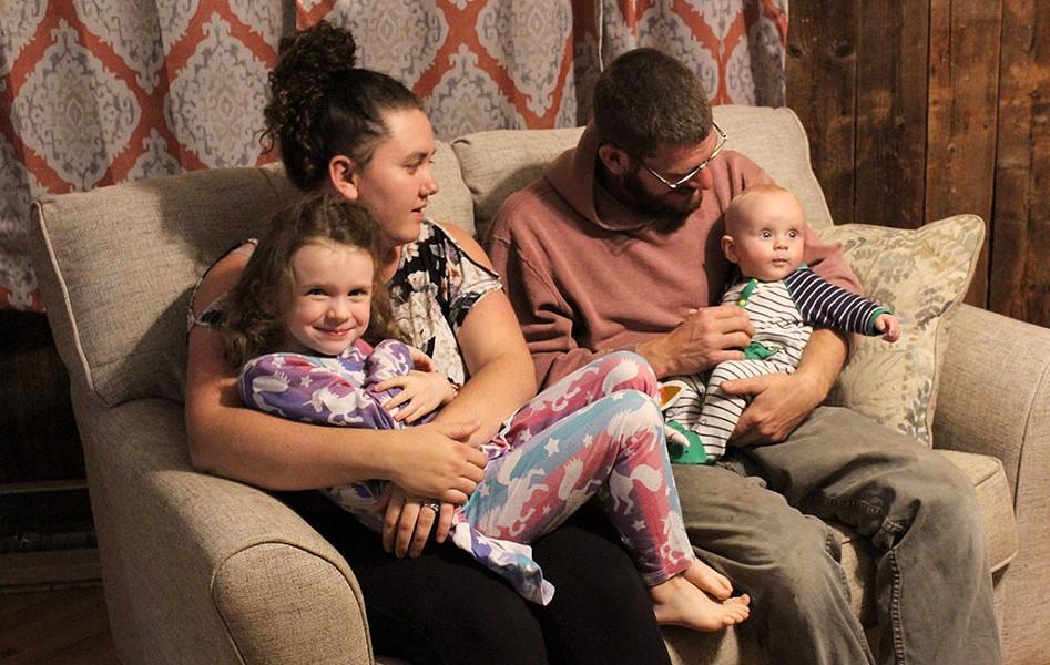 The Cleveland family - COURTESY OF ALISHIA CLEVELAND