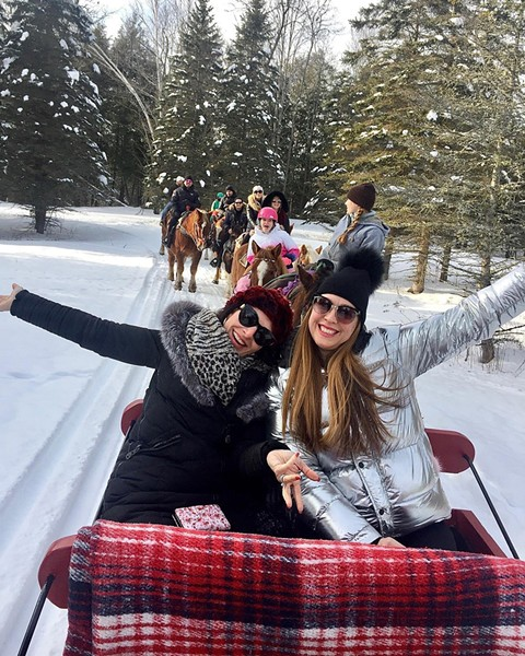 Sleigh rides through the seasons with Lajoie Stables - COURTESY OF LAJOIE STABLES