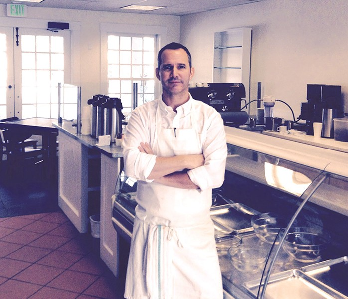 Brent Gosselin of Norwich Squares Café - LEE MICHAELIDES