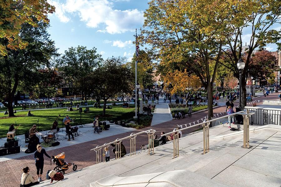Burlington's City Hall Park - RENEE GREENLEE   COURTESY OF BURLINGTON CITY ARTS