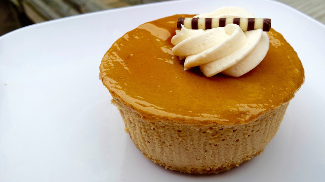 Maple cheesecake from Chef's Corner South End - MELISSA HASKIN
