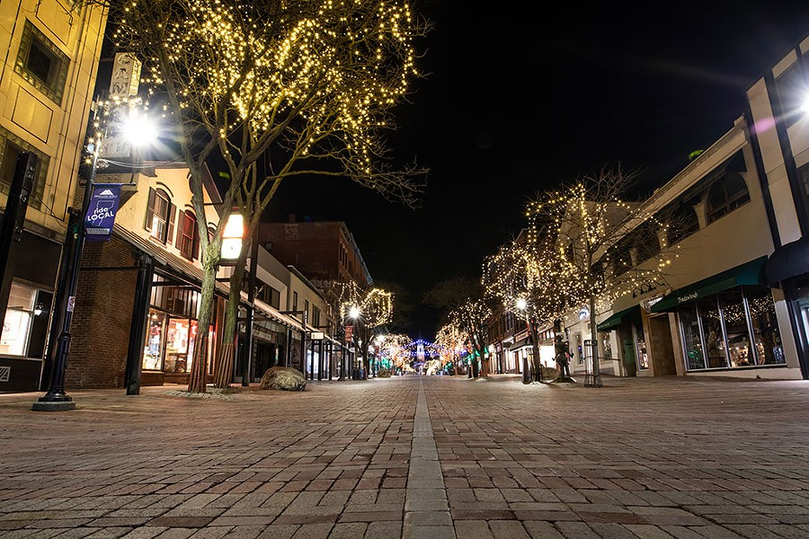 Church Street Marketplace earlier this year - FILE: LUKE AWTRY ©️ SEVEN DAYS