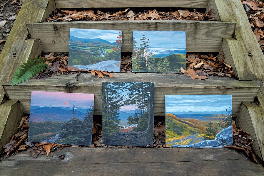 Rob Mullen paintings - GLENN RUSSELL