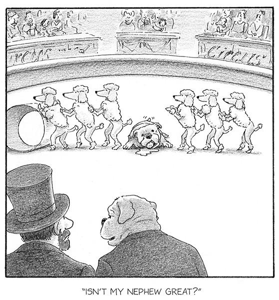 Cartoon - COURTESY OF HARRY BLISS
