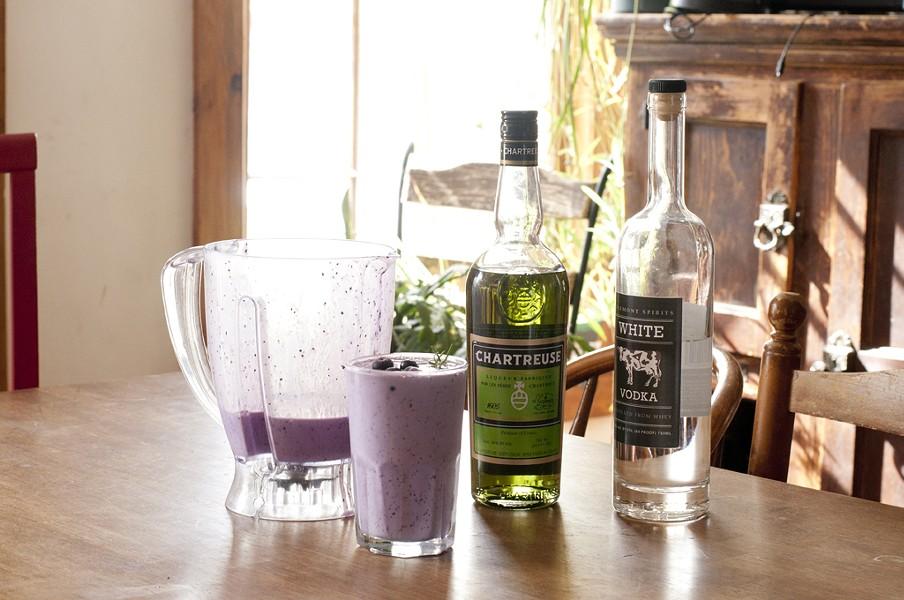 Carthusian blueberry shake - HANNAH PALMER EGAN