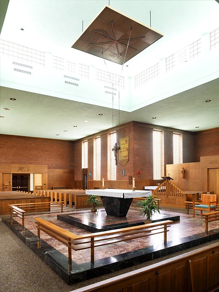 The altar at St. Mark Catholic Parish - CAROLYN BATES