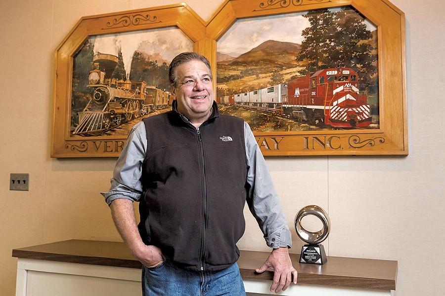 David Wulfson, Vermont Railway president - OLIVER PARINI