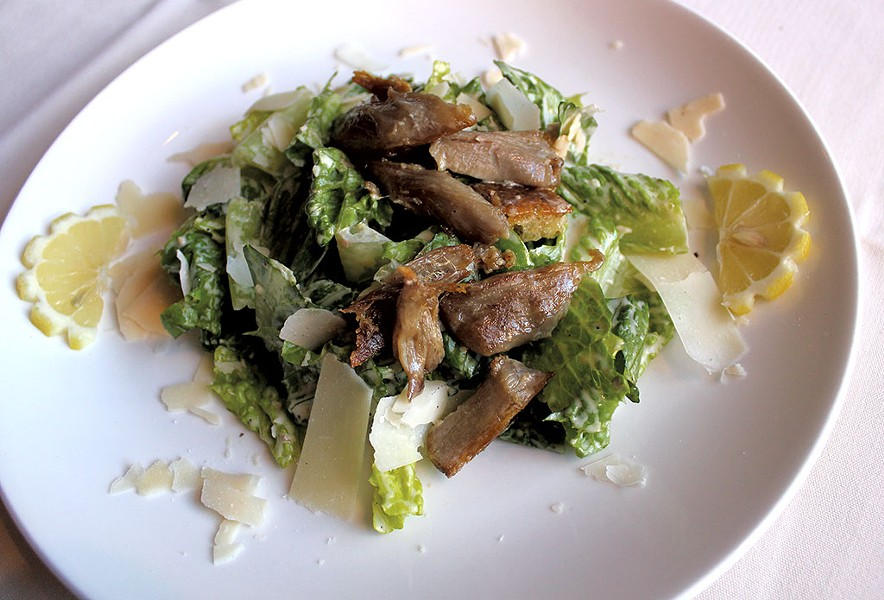 Caesar salad at Peter Havens - ANDREA SUOZZO