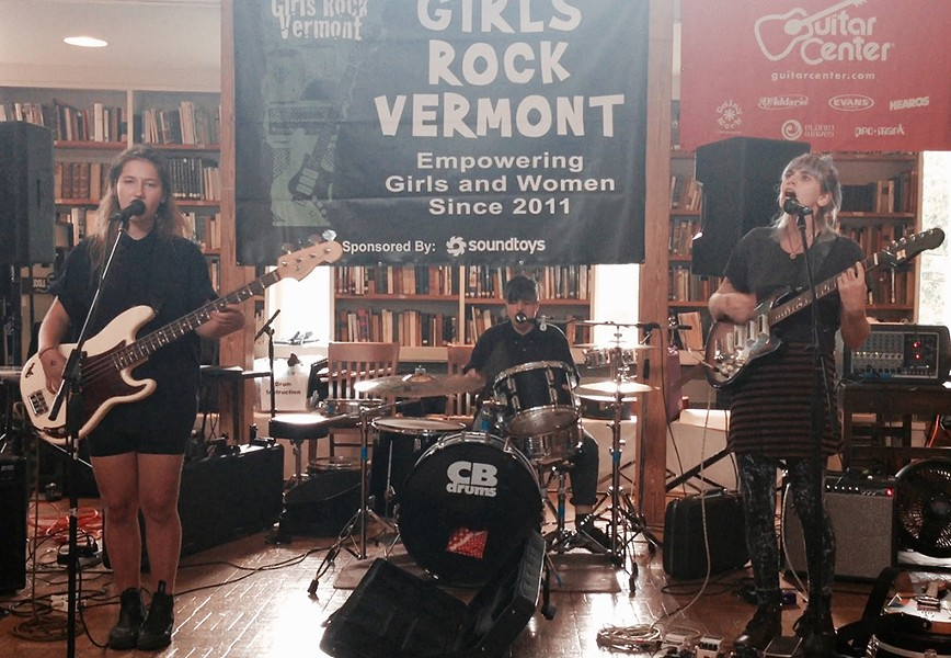 And the Kids at Girls Rock Vermont