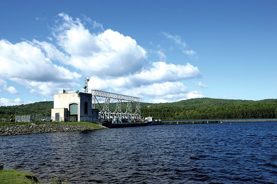 Comerford hydroelectric station on the Connecticut River - COURTESY OF TRANSCANADA
