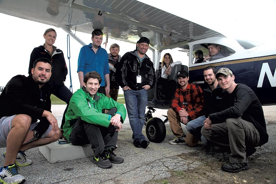 Vermont Technical College's Professional Pilot Technology program. - MATTHEW THORSEN
