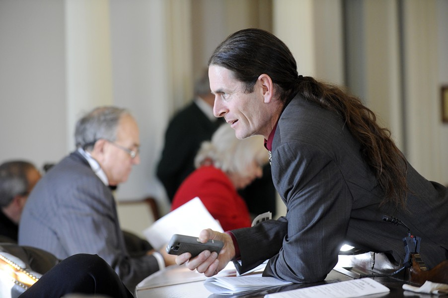 Sen. David Zuckerman - FILE: JEB WALLACE-BRODEUR