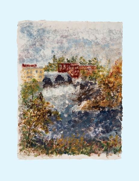 """Middlebury Falls"""