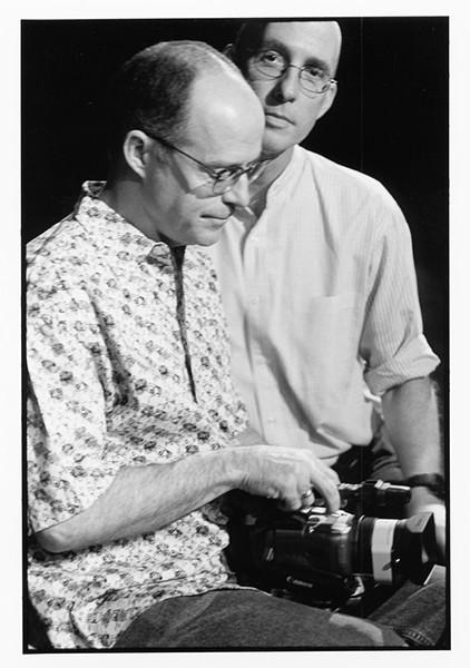 """John Killacky, left, and Lawrence Connolly in the film """"Holding On"""" - COURTESY OF JOHN KILLACKY"""