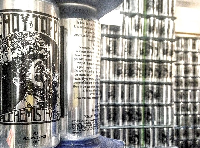 Heady Topper - COURTESY OF THE ALCHEMIST