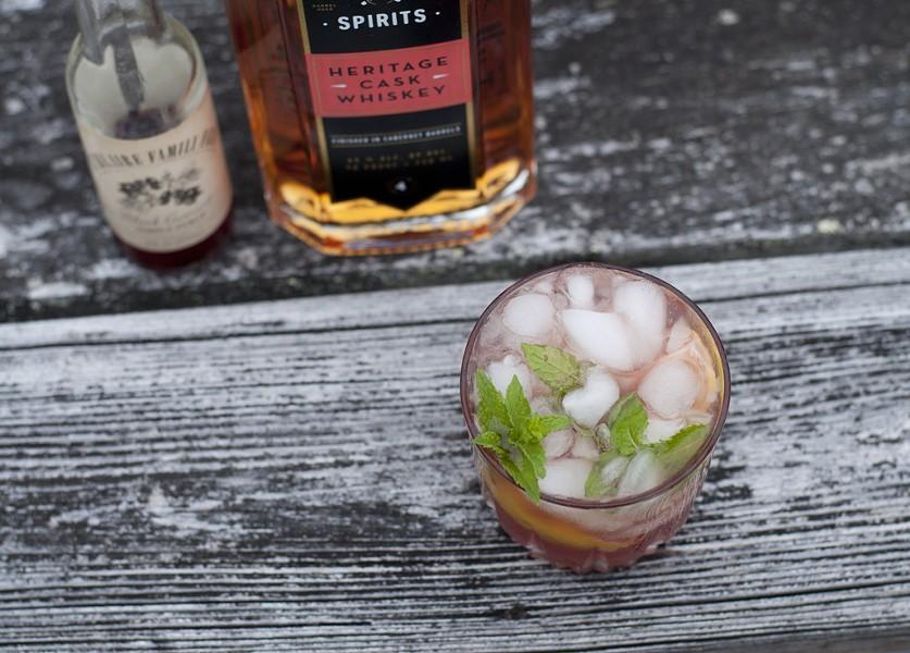 Currant whiskey smash - HANNAH PALMER EGAN