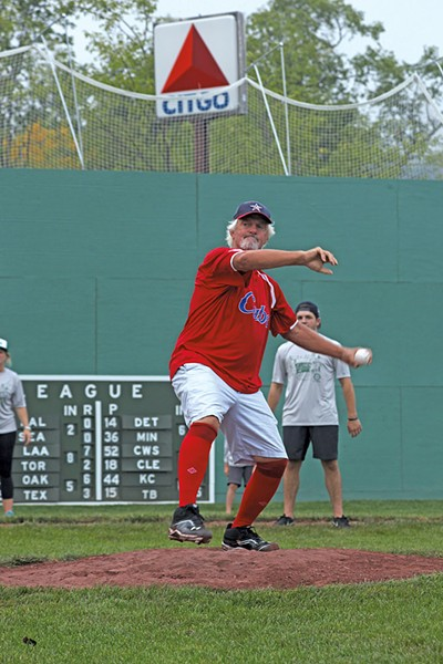 Bill Lee at Little Fenway - MATTHEW THORSEN