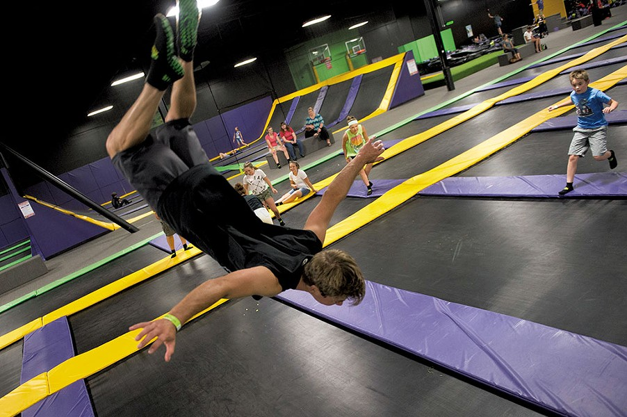 Get Air Trampoline Park - COURTESY OF GET AIR TRAMPOLINE PARK