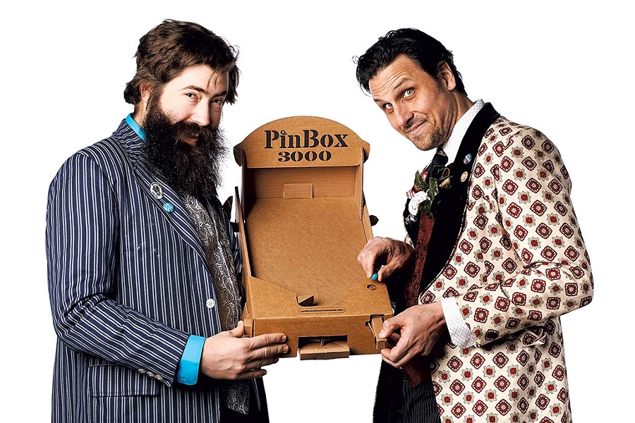 Pete Talbot and Ben T. Matchstick