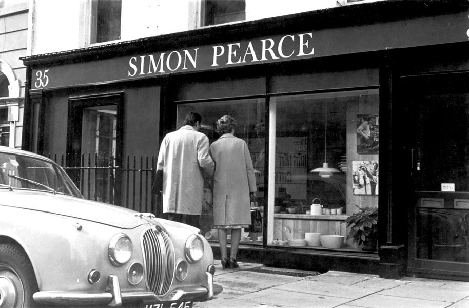 One of Simon Pearce's original retail stores, on Kildare Street in Dublin - COURTESY OF SIMON PEARCE, JOHN SHERMAN & GLENN SUOKKO