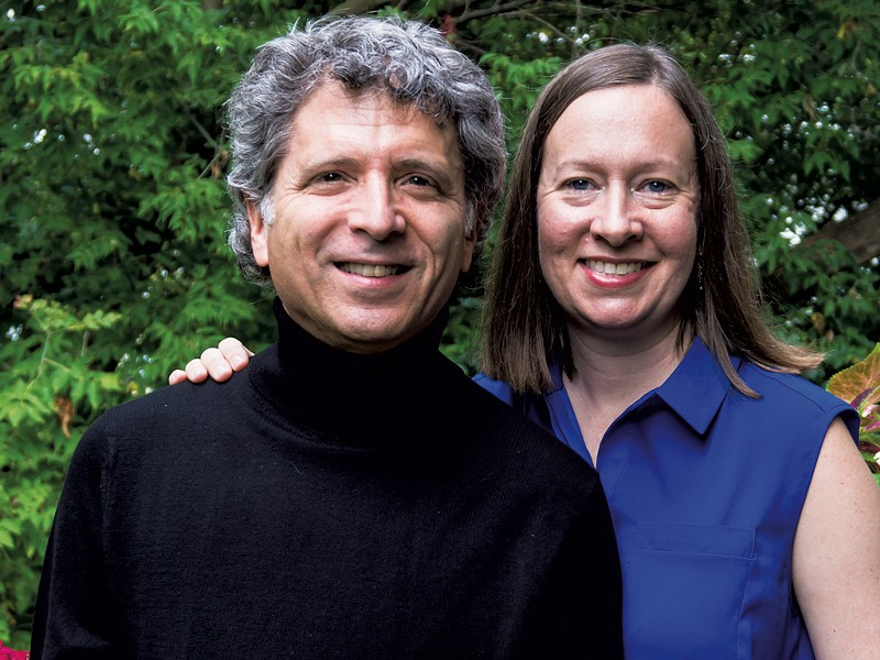 Ronald Braunstein and Caroline Whiddon - COURTESY OF ANN L. MOORE
