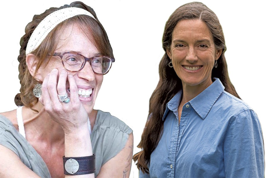 Tamara Ellis Smith, left, and Alice Fothergill