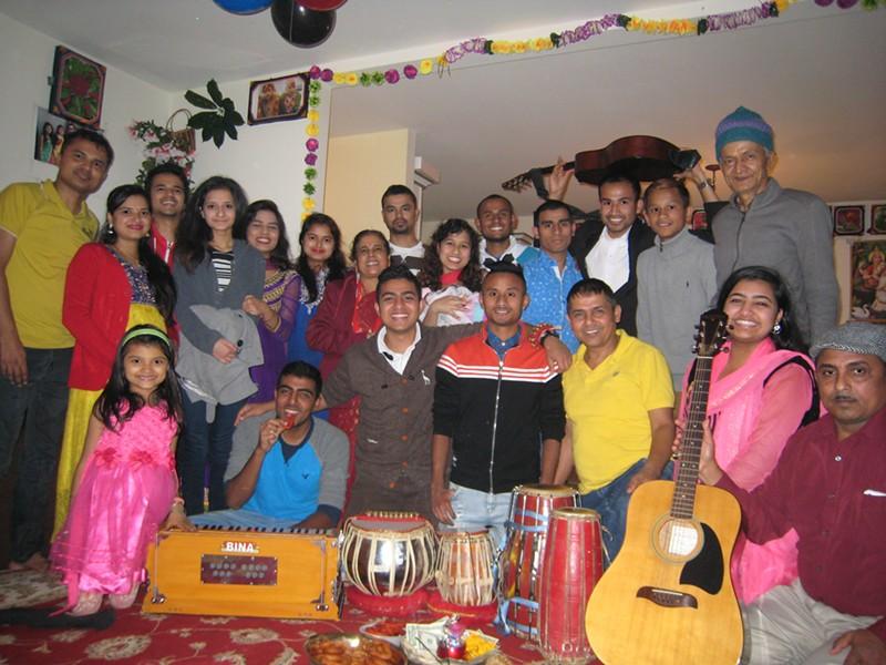 3rd STEPS and Puru Niroula's family - KYMELYA SARI