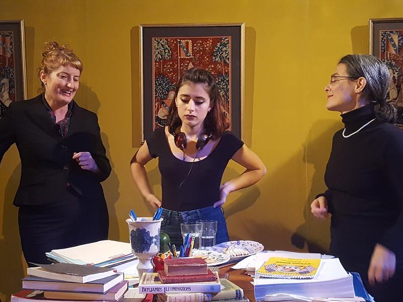 Left to right: Pamela Formica, Esse Luna and Emer Pond Feeney - MATTHEW THORSEN