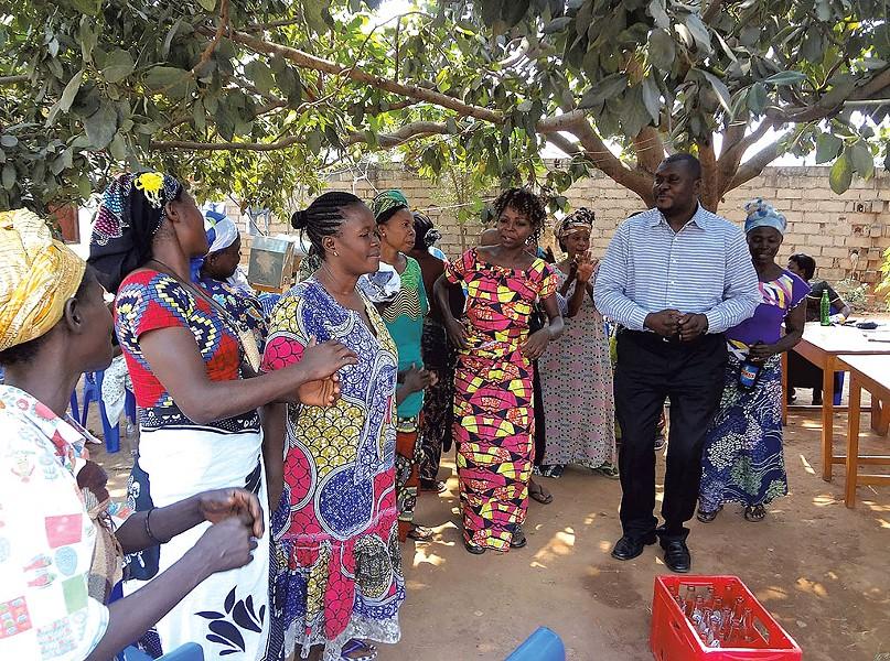Cleophace Mukeba in the Congo - COURTESY OF IBUTWA