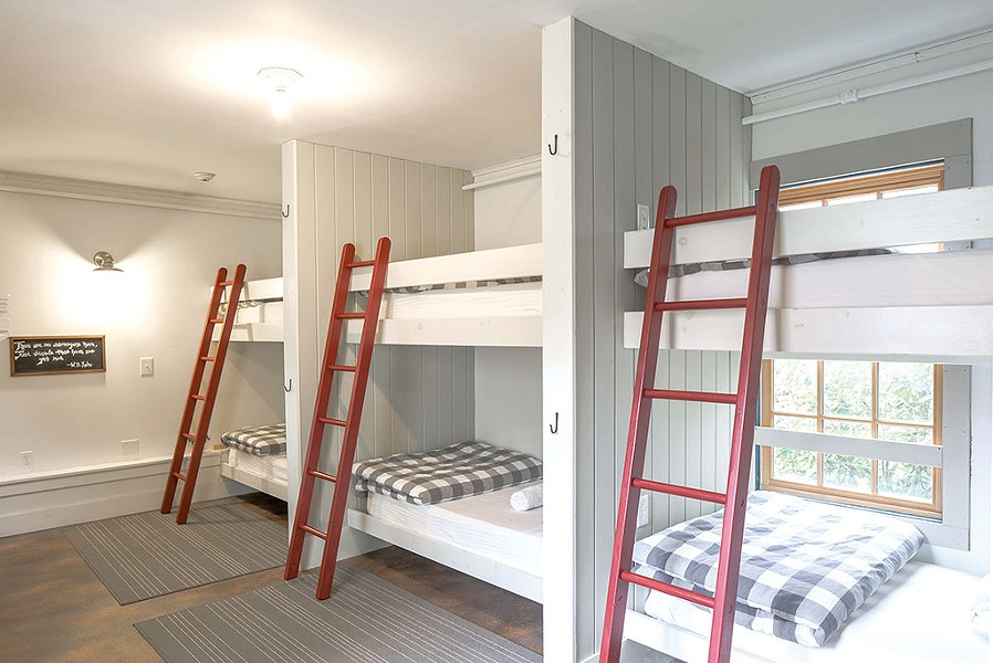 Dormitory-style rooms - COURTESY OF LINDSAY SELIN