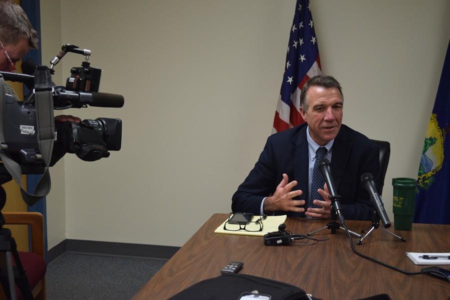 Governor-elect Phil Scott - TERRI HALLENBECK