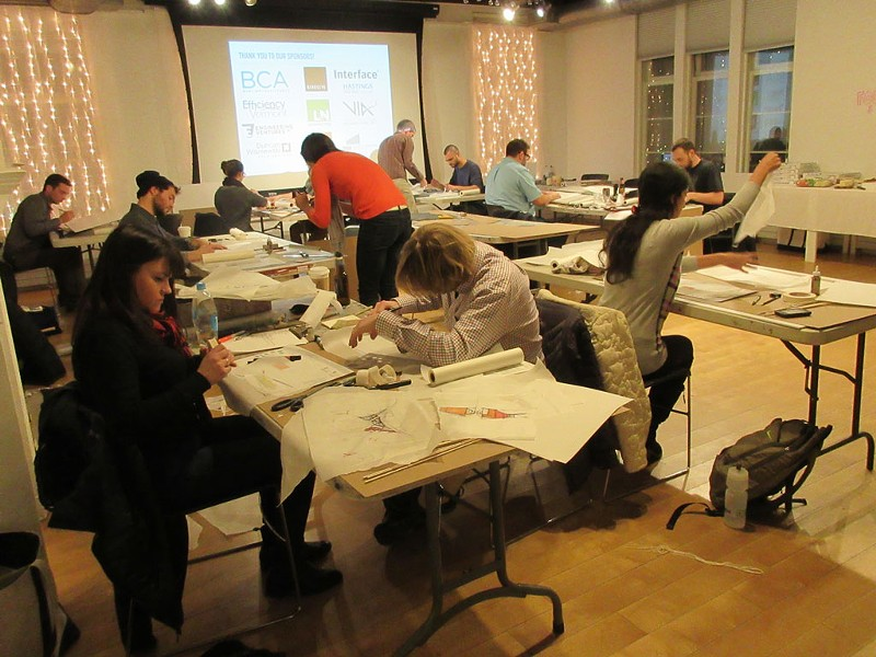 The Emerging Professionals Network design charrette at the BCA Center - AMY LILLY