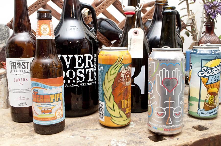 Vermont beer, circa 2016 - HANNAH PALMER EGAN