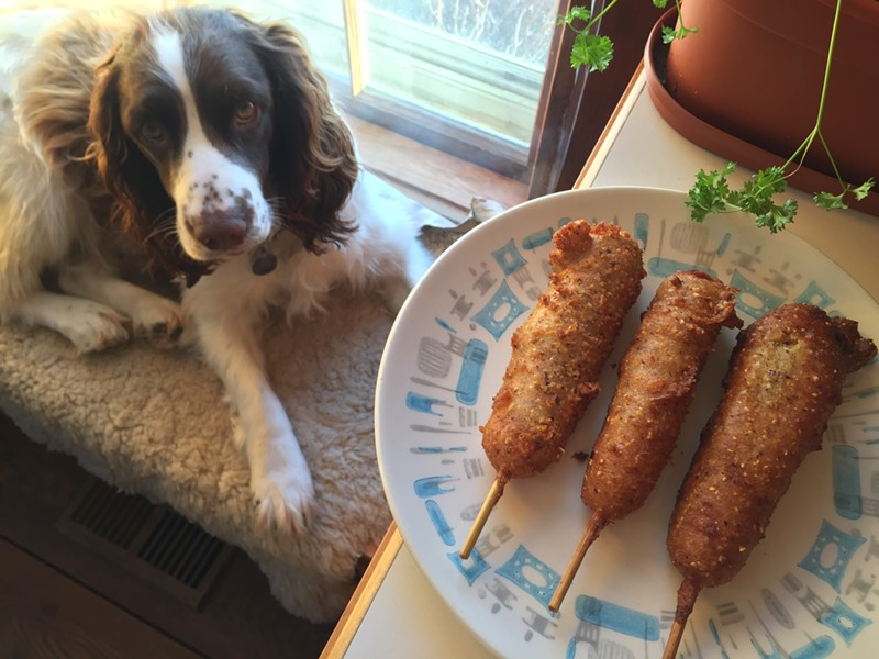 Real dog, meet corndogs - HANNAH PALMER EGAN