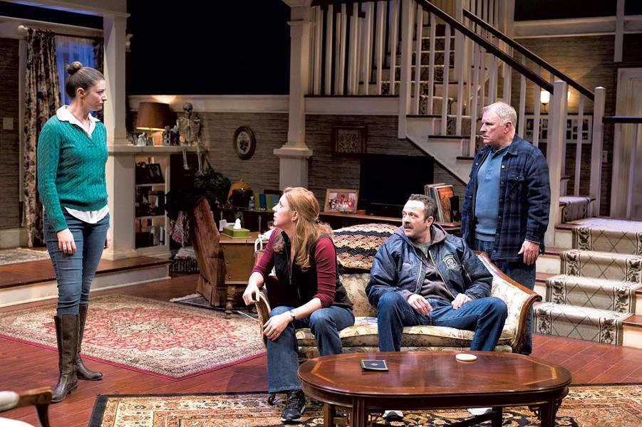 Left to right: Katie Bruestle, Jenni Putney, David Mason and Gordon Clapp - COURTESY OF JASON MERWIN