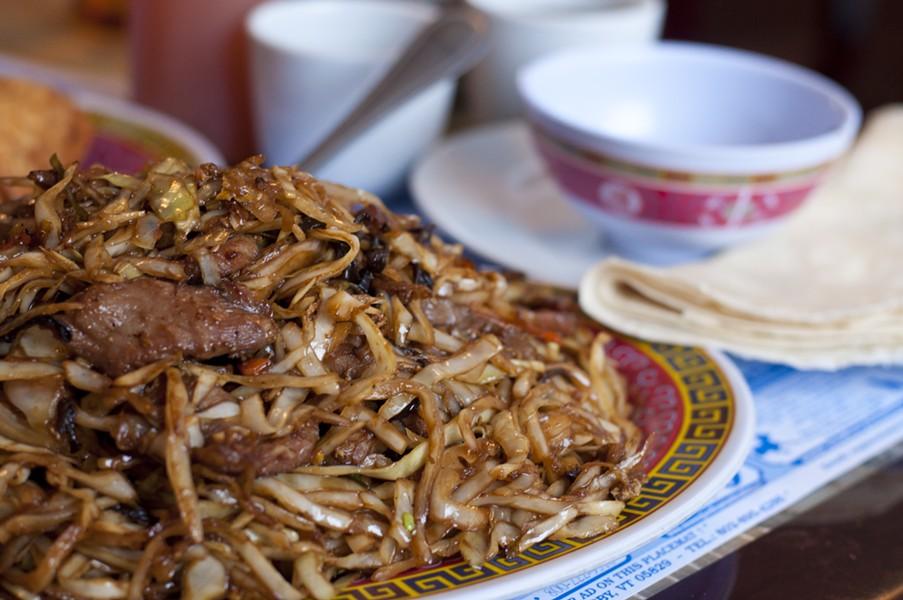 Moo-shi pork - HANNAH PALMER EGAN