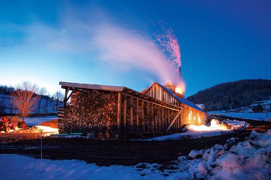 A sugarhouse in Huntington - FILE: BRIAN MOHR